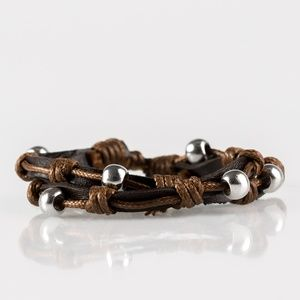 Right To Ride - Brown Urban Bracelet